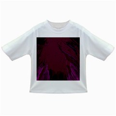 Abstract Purple Pattern Infant/Toddler T-Shirts