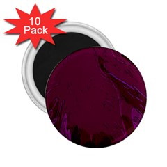 Abstract Purple Pattern 2.25  Magnets (10 pack)