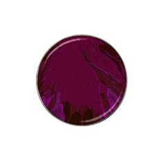 Abstract Purple Pattern Hat Clip Ball Marker (10 pack)