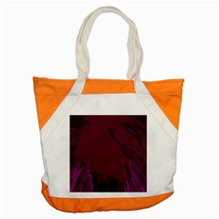 Abstract Purple Pattern Accent Tote Bag
