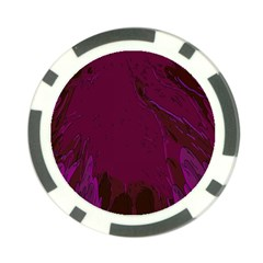Abstract Purple Pattern Poker Chip Card Guard (10 Pack)