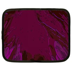 Abstract Purple Pattern Netbook Case (xl)