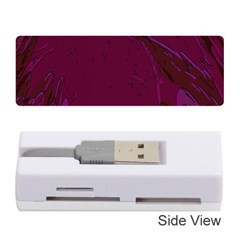Abstract Purple Pattern Memory Card Reader (stick)