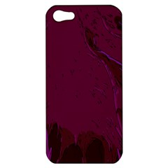 Abstract Purple Pattern Apple iPhone 5 Hardshell Case