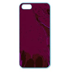 Abstract Purple Pattern Apple Seamless iPhone 5 Case (Color)