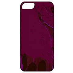 Abstract Purple Pattern Apple iPhone 5 Classic Hardshell Case