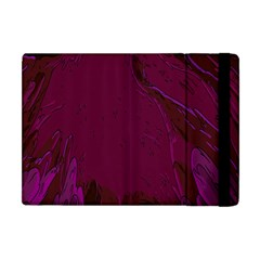 Abstract Purple Pattern Apple iPad Mini Flip Case
