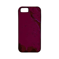 Abstract Purple Pattern Apple iPhone 5 Classic Hardshell Case (PC+Silicone)