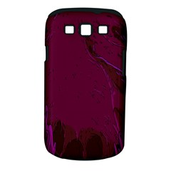 Abstract Purple Pattern Samsung Galaxy S III Classic Hardshell Case (PC+Silicone)