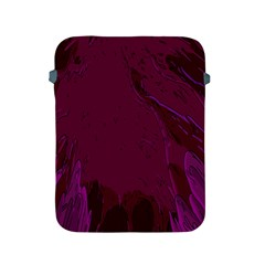 Abstract Purple Pattern Apple Ipad 2/3/4 Protective Soft Cases