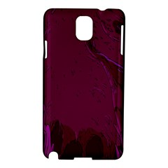 Abstract Purple Pattern Samsung Galaxy Note 3 N9005 Hardshell Case