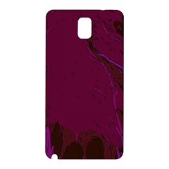 Abstract Purple Pattern Samsung Galaxy Note 3 N9005 Hardshell Back Case