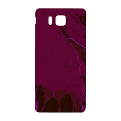 Abstract Purple Pattern Samsung Galaxy Alpha Hardshell Back Case