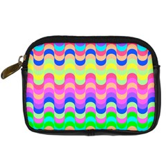Dna Early Childhood Wave Chevron Woves Rainbow Digital Camera Cases
