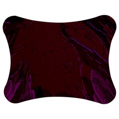 Abstract Purple Pattern Jigsaw Puzzle Photo Stand (Bow)
