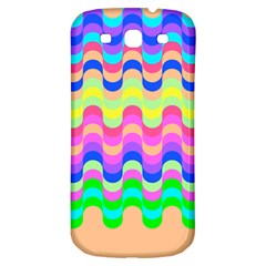 Dna Early Childhood Wave Chevron Woves Rainbow Samsung Galaxy S3 S Iii Classic Hardshell Back Case