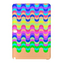 Dna Early Childhood Wave Chevron Woves Rainbow Samsung Galaxy Tab Pro 10 1 Hardshell Case