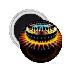 Abstract Led Lights 2.25  Magnets