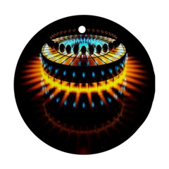 Abstract Led Lights Ornament (Round)