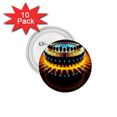 Abstract Led Lights 1 75  Buttons (10 Pack)