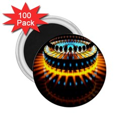 Abstract Led Lights 2 25  Magnets (100 Pack)