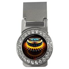 Abstract Led Lights Money Clips (CZ)