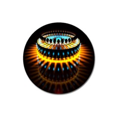 Abstract Led Lights Magnet 3  (round)