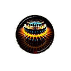 Abstract Led Lights Hat Clip Ball Marker (4 Pack)