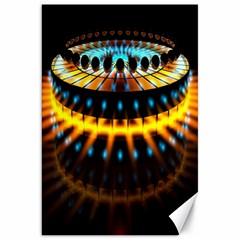 Abstract Led Lights Canvas 20  X 30