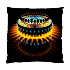 Abstract Led Lights Standard Cushion Case (one Side)