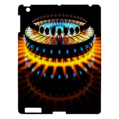 Abstract Led Lights Apple iPad 3/4 Hardshell Case