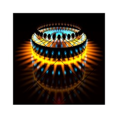 Abstract Led Lights Acrylic Tangram Puzzle (6  x 6 )