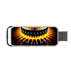 Abstract Led Lights Portable USB Flash (One Side)