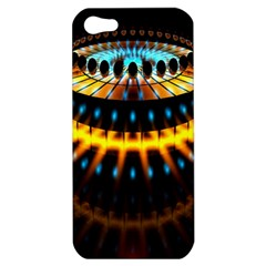 Abstract Led Lights Apple iPhone 5 Hardshell Case