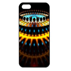 Abstract Led Lights Apple iPhone 5 Seamless Case (Black)