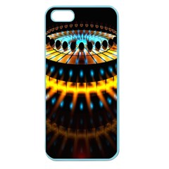Abstract Led Lights Apple Seamless Iphone 5 Case (color)