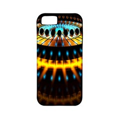 Abstract Led Lights Apple iPhone 5 Classic Hardshell Case (PC+Silicone)