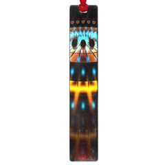 Abstract Led Lights Large Book Marks