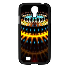 Abstract Led Lights Samsung Galaxy S4 I9500/ I9505 Case (Black)