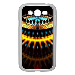 Abstract Led Lights Samsung Galaxy Grand DUOS I9082 Case (White)
