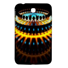 Abstract Led Lights Samsung Galaxy Tab 3 (7 ) P3200 Hardshell Case