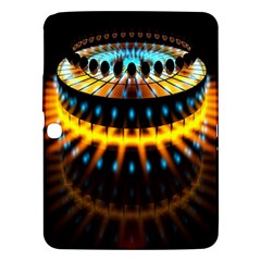 Abstract Led Lights Samsung Galaxy Tab 3 (10.1 ) P5200 Hardshell Case