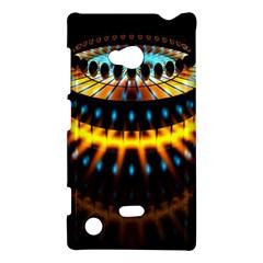 Abstract Led Lights Nokia Lumia 720