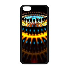 Abstract Led Lights Apple iPhone 5C Seamless Case (Black)