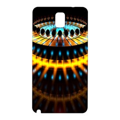 Abstract Led Lights Samsung Galaxy Note 3 N9005 Hardshell Back Case