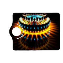 Abstract Led Lights Kindle Fire HD (2013) Flip 360 Case
