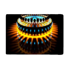 Abstract Led Lights iPad Mini 2 Flip Cases