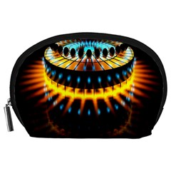 Abstract Led Lights Accessory Pouches (Large)