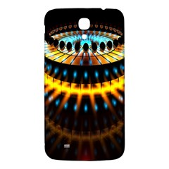 Abstract Led Lights Samsung Galaxy Mega I9200 Hardshell Back Case