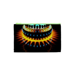 Abstract Led Lights Cosmetic Bag (XS)